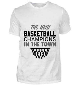GIFT- BASKETBALL CHAMPION IN TOWN BLACK