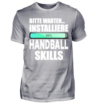 Installiere Handball Skills