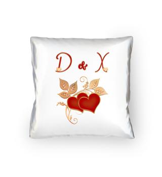 Paarkissen D und X