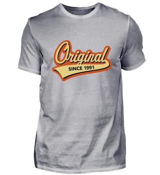 Original Since 1991 (Geburtsjahr, Geburtstag) 3C