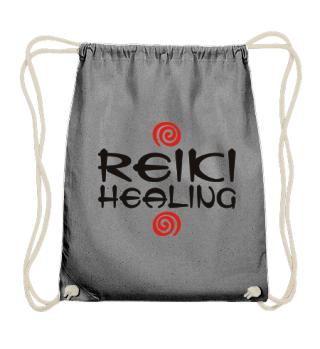 ★ Reiki Healing Energy Spirals red black