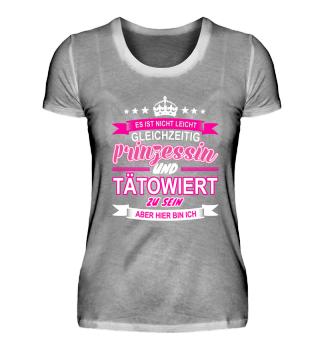 Tätowiert Prinzessin Idee Tattoo