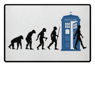 ★ Evolution Of Humans - Police Box 6a