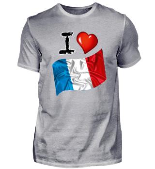 I love Frankreich