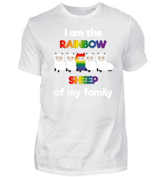 LGBT Rainbow Sheep Gay Pride Schwul