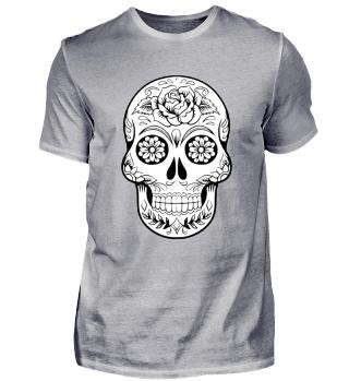 Skull Shirt Totenkopf T-Shirt Halloween