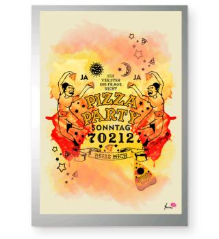 #PizzaPartySonntag Poster