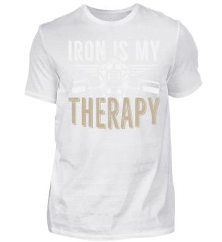 iron is my THERAPY - gym