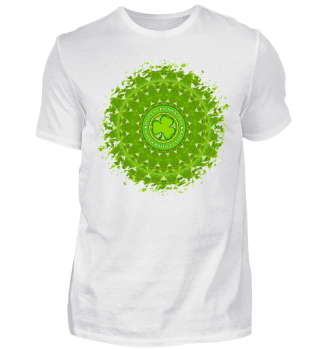 HAPPY SAINT PATRICK'S DAY MANDALA