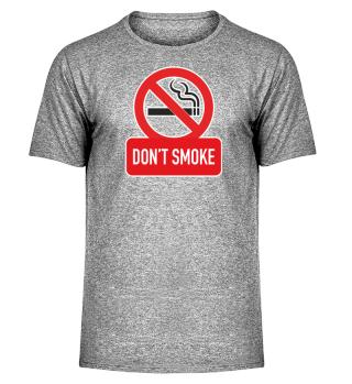 DON'T SMOKE sign I