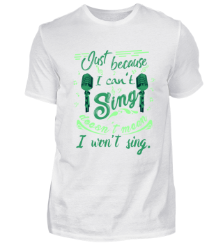 Music - I can't sing but will sing