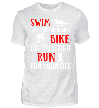 Triathlon Swim Bike Run