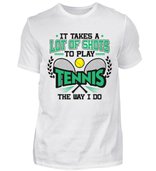 Tennis Player Coach Champion Funny Cool Pun Quote Gift