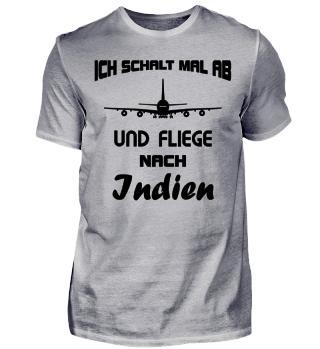 Abschalten - nach Indien Fliegen