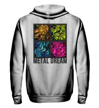 Colored Metal Dreams Mosaic