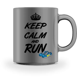 Laufshirt- keep calm and run