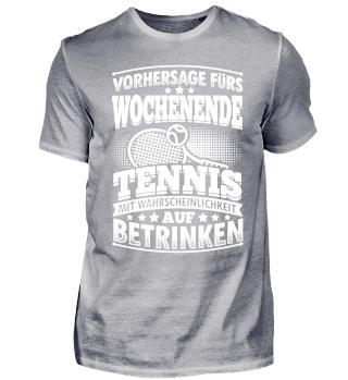 Lustiges Tennis Shirt Vorhersage Fürs