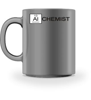 Chemical Elements - Alchemist - schwarz