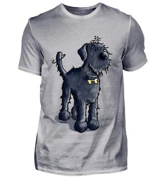 Happy Riesenschnauzer - Hund