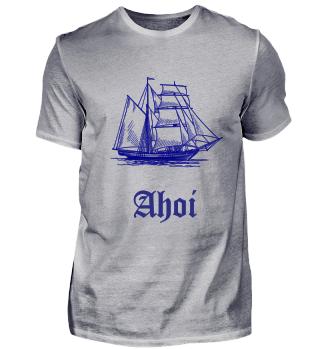 Segelschiff - Ahoi