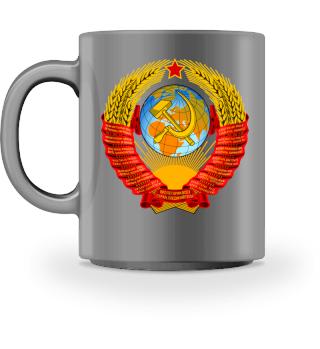 UDSSR CCCP Russland Tasse Geschenk