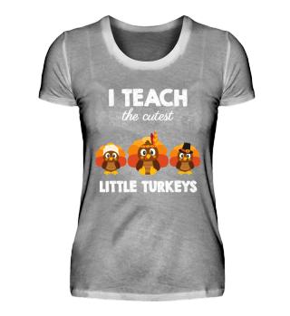 i teach the cutest little turkeys