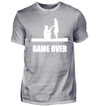 JGA GAME OVER Geschenkidee Motiv Design