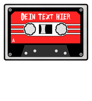 MIXTAPE rot - DEIN TEXT 1