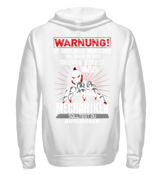 Mechaniker Warnung