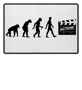 Evolution Of Humans - Clapperboard I