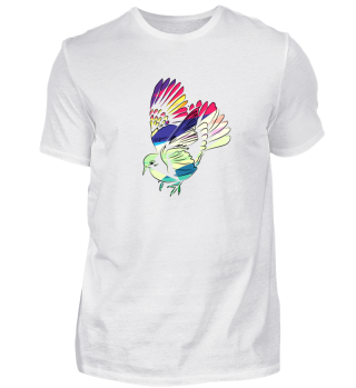 Dove Pigeon Bird Colorful Nature Gift