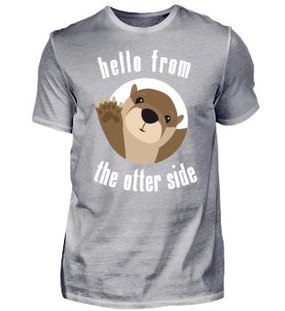 Funny Otter Side Pun Cute Animal Gift
