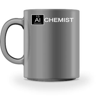 Chemical Elements - Alchemist - weiss