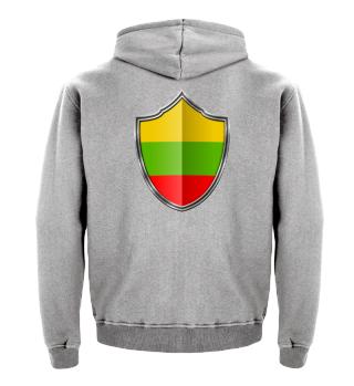 Litauen-Lithuania Wappen Flagge 015