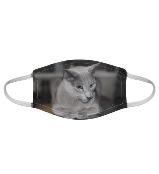 Gesichtsmaske mit Katzenmotiv 20.19