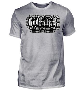 Herren Kurzarm T-Shirt God Father Ramirez