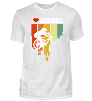 I Love Downhill Hipster Edition