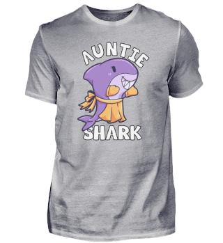 Auntie Shark Tante Hai Frau Schwester