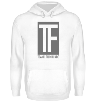 TF Big Logo grau | Team Filmhunde