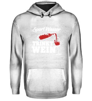 Wein · Spart Wasser