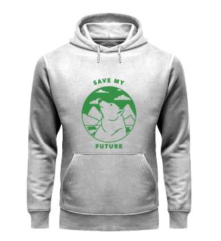 Save My Future-Organic Hoodie