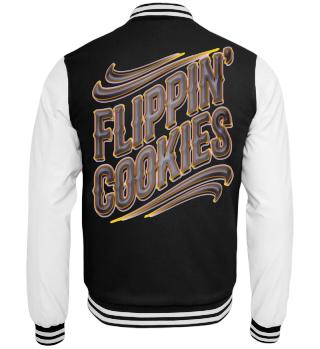 Herren College Jacke Flippin' Cookies Ramirez