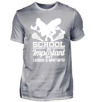 School is important but Lacrosse