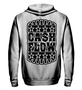 Herren Zip Hoodie Cash Flow BW Ramirez
