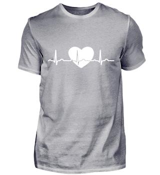 GIFT - ECG HEARTLINE BLACK DESIGN
