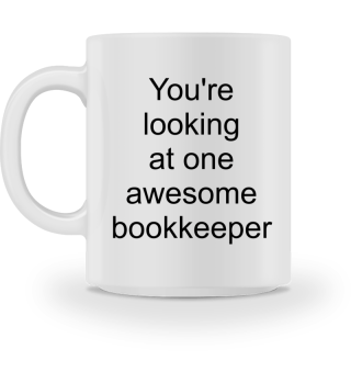 Awesome Bookkeeper - Gift