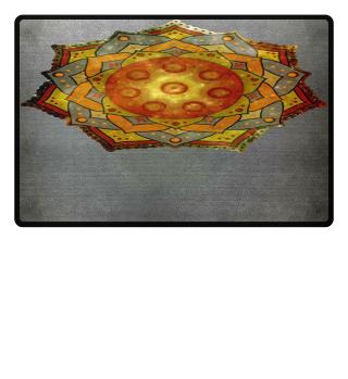 ★ Handpan - Hang Drum Mandala I HOODIE