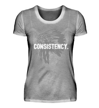 Consistency LYLF Women Shirt Front White