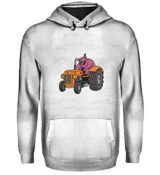Landwirtschaft · Traktor und Schwein