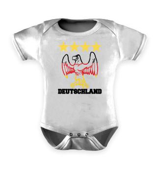 Deutschland Baby Body Strampler WM EM